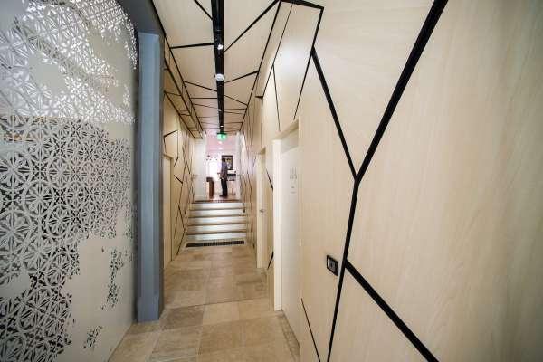 Chalmers hallway