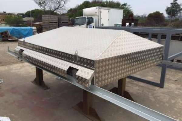 Weather cover fabrication