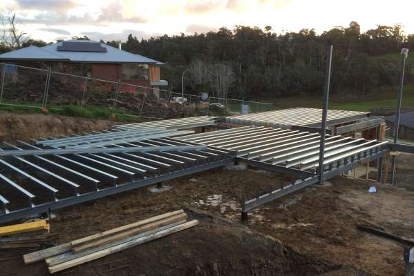 Unit development steel work 2