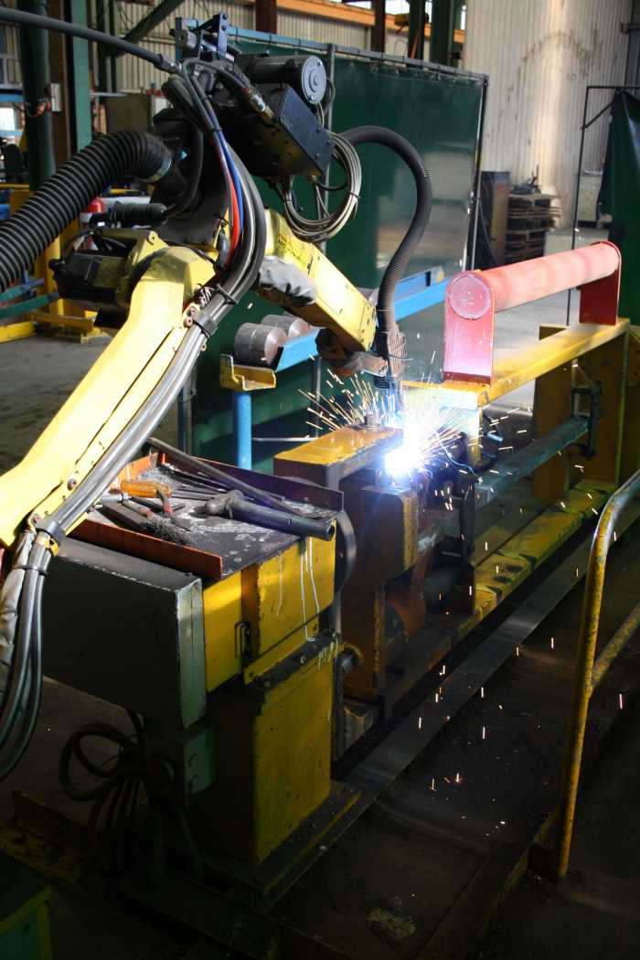 Robot Welding Production
