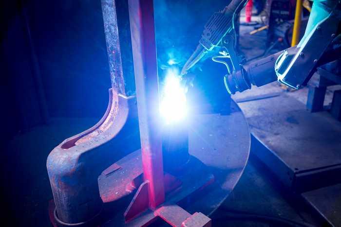 Robot Welding WELDING SHROUD
